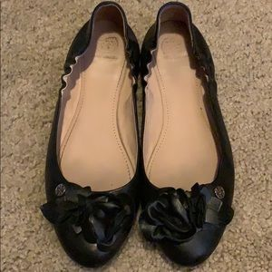 Black Tory Burch flats